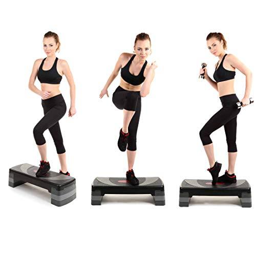 Xn8 - Bloque de escalón Ajustable para Ejercicios aeróbicos cardiovasculares, (Additional Pair) Extension Steps (Not The Stepper): Amazon.es: Deportes y ...