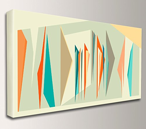 "Mid Century Modern Art Decor – ""Intermix Panorama"" 41gVZIATLrL"