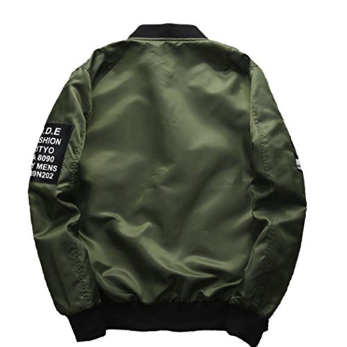 Men's Fashion Jacket Green 4XL