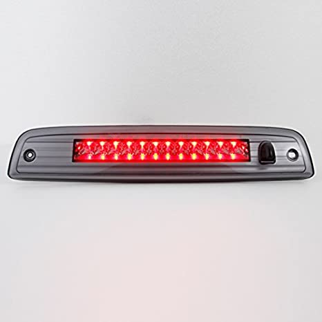 Third Brake Light High Mount Stop Light Rear LED Lamp Compatible 2003-2016 Expedition//Lincoln Navigator Electroplating Housing Clear LEDs