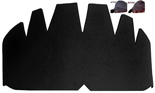 3pk. Black Baseball Caps Crown Inserts, Flexible & Long Lasting Hat Shaper, Foam Hat Liner Support for Snapback Caps, Fitted Caps, Ball Sports Caps and More. 100% Mbg, 1 Free - Foam Cap Baseball