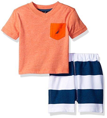 Nautica Baby Boys Stripe Short
