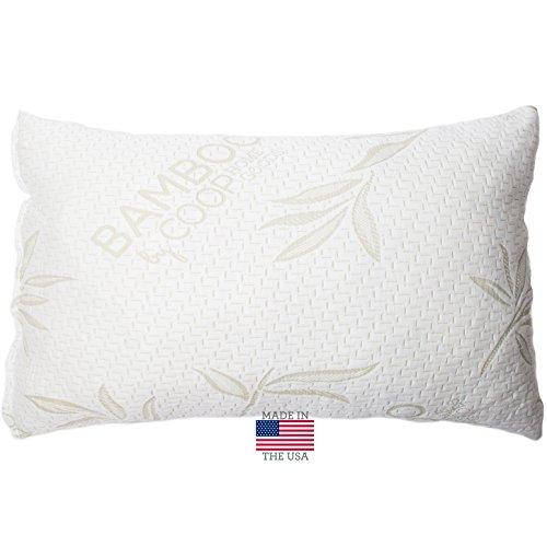 3 shredded memory foam pillow