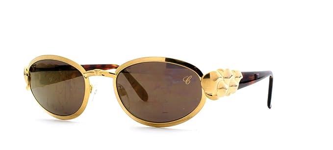 e97eb1b43a1bc4 Chopard - Lunette de soleil - Femme Marron Brown Gold  Amazon.fr ...