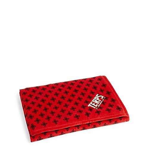 ryland Terrapins Women's Throw Blanket, Red/Black, X-Large (Ladies Throw)