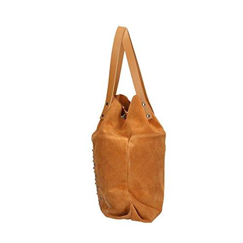 bandoulière sac à Cuir Cm cuir Chicca 33x39x10 en véritable Borse Ezwqyx5Tt