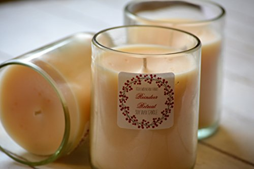 Reindeer Retreat Soy Wax Candle | Holiday Candle