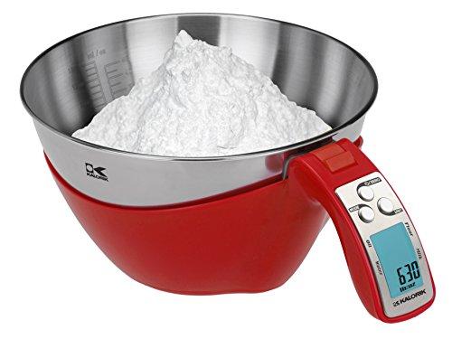 Kalorik iSense Food Scale Red