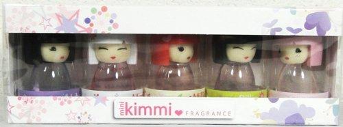 Kimmi Junior 5 pcs MINI SET Collection 5 x 0.16 oz (5 ml) EDT Splash Kids by Kimmi Fragrence