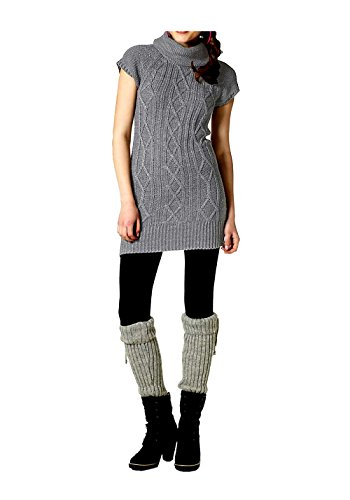 Ajc Vestido Gris Opaco Multicolor Heather q06UqFK