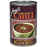 Chili, 95% organic, Medium, Black Bean, 14.7 Oz ( Multi-Pack)