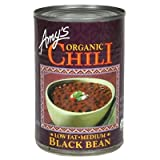 Amy's Organic Black Bean Chili 14.7 OZ (Pack of 4)