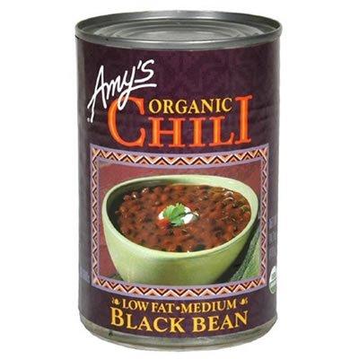 Amy's Organic Black Bean Chili 14.7 OZ (Pack of 4)