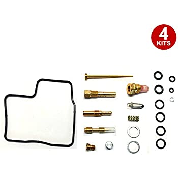 Amazon com: Damineding 4 X Carburetor Carb Repair Rebuild Kit 84-87
