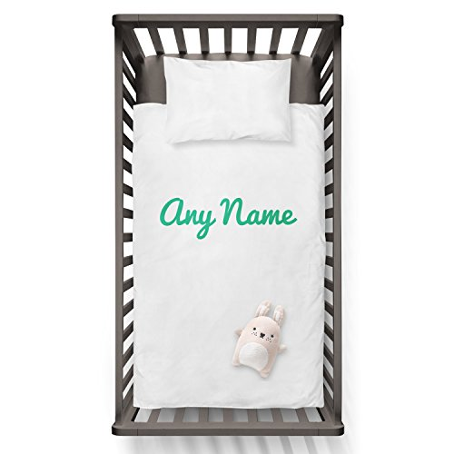 Any name Funny Humor Hip Baby Duvet /Pillow set,Toddler Duvet,Oeko-Tex,Personalized duvet and pillow,Oraganic,gift by Jobhome