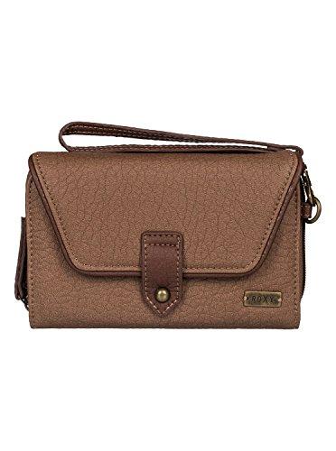 Roxy Womens Roxy Lisboa Secret - Checkbook Wallet - Women - One Size - Brown Camel One Size