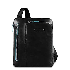 Piquadro messenger bag ca1816b2 black luggage for Piquadro amazon