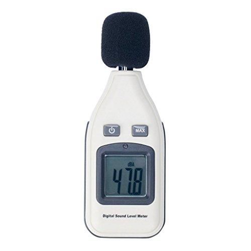 V-EWIGE Lärm-Monitor Decibel Gerät Digital Sound Schallpegelmessgerät 30-130 dB Neu