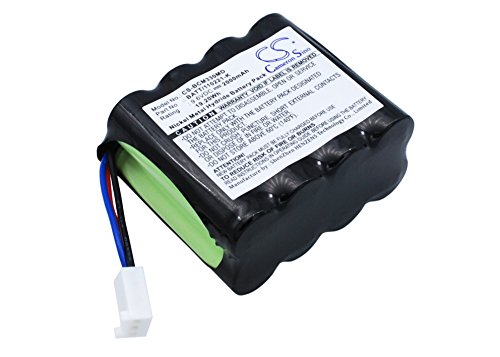 Medical Equipment Battery Accessory for BCI 20600A1 8200 Capnocheck CO2 Mo, 3303 Hand Held Pulse Oximeter, Capnocheck 3303 2000mAh / 19.20Wh 9.6 Ni-MH 1 Year Warranty