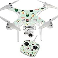 Skin For DJI Phantom 3 Standard – Sushi | MightySkins Protective, Durable, and Unique Vinyl Decal wrap cover | Easy To Apply, Remove, and Change Styles | Made in the USA