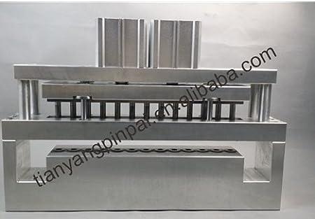 Huanyu Perforadora neumática de 12 mm para perforar 13 Agujeros para Bolsa de plástico: Amazon.es: Bricolaje y herramientas
