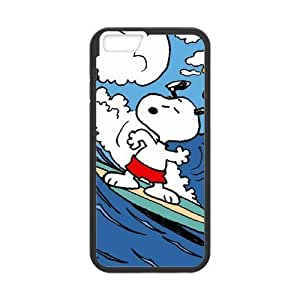 "Snoopy Cartoon iPhone 6 4.7"" Case Cover Durable PC+ TPU Material"
