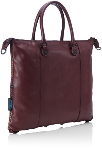 GABS G3-B M INFIES, Bolso Mujer, 1x31x38 cm Multicolor (Red Shade)