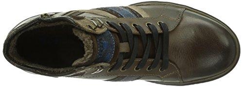 Bugatti F685713 Herren Hohe Sneakers Braun (dunkelbraun 610)