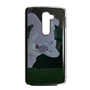 LG G2 Cell Phone Case Black Disney The Rescuers Down Under Character Krebbs TY_F02948