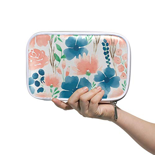 f6622700c1e5 Mr.XZY Watercolor Animal Pattern Multifunction Pencil Pen Bags Sky Fly  American Bald Eagle Custom Edition Funny Leather Portable Cosmetic Bag ...