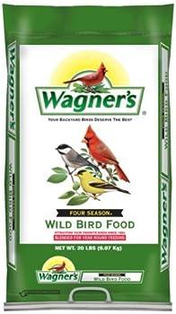 Wagner's 20-Ounce Four Season Wild Bird Food Bag