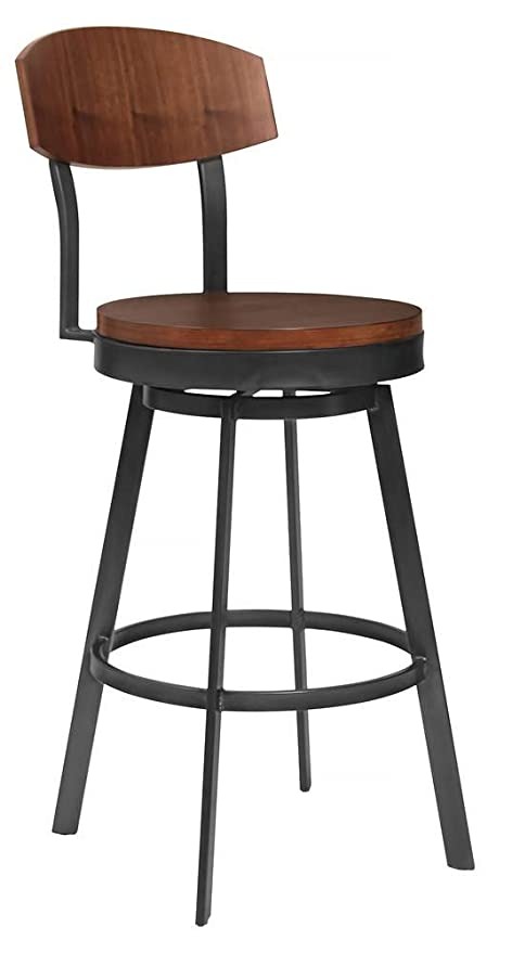 Admirable Amazon Com Armen Living Counter Stool In Mineral Finish Camellatalisay Diy Chair Ideas Camellatalisaycom