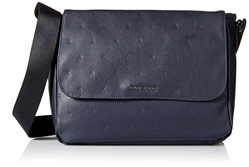 Men's Embossed Bags Armani Exchange Navy Messenger 578xaq