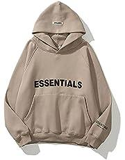 Fear Fog Essentials Hoodie Double Line Hip Hop Tide Brand Losse Hooded Unisex Sweater Met Lange Mouwen