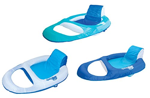 SwimWays Spring Float Recliner Floating Pool Lounge Chair (3-Pack) | 13018 For Sale