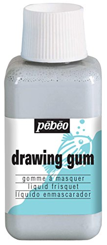 Pebeo Magic! Drawing Gum for Kids, Masking Fluid, 250 ml Bottle (Drawing Pebeo)