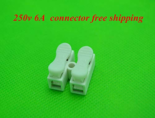 Gimax BSOD 500 Pack Spring Connector for Wire,Cable, LED Strip Conneting Catcher by GIMAX (Image #5)