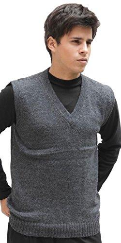 V-Neck Wool Vest - 8