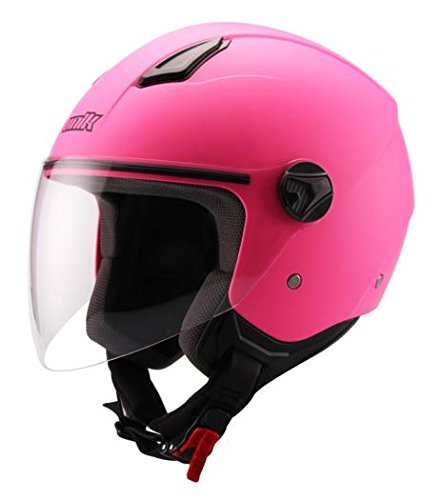 Amazon.es: UNIK - Casco Jet CJ-16 Rosa (L)