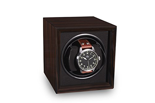 TPR Single Watch Winder Macassar For Men's Automatic Watches