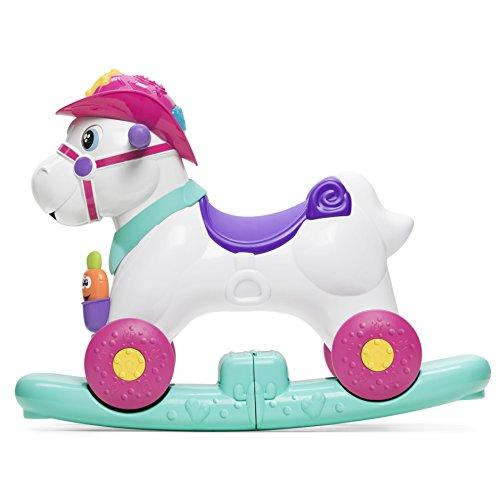 Rodeo A Cavallo.Cavallo A Dondolo Chicco Rosa