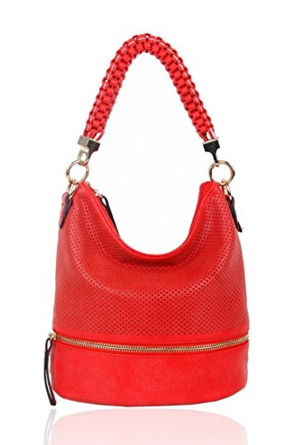 Scarlet Fashion Bag Handbags LeahWard For Bag Bags Women's Shoulder Shoulder Style Soft CW150906 Tote Her 70q850x