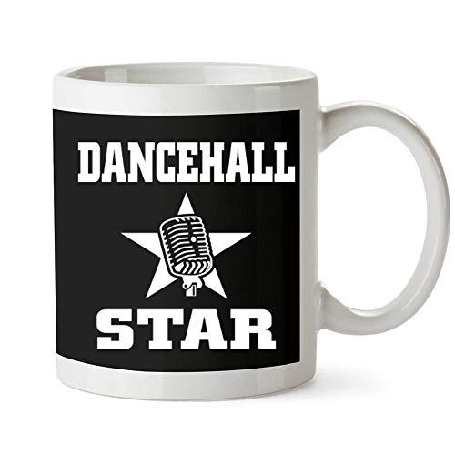 (Idakoos Dancehall STAR microphone Mug 11 ounces )