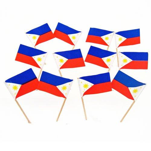 Philippines Pick (Philippines | Filipino Flag Toothpicks (100))