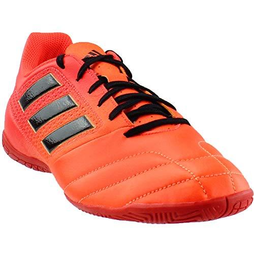 (adidas Ace 17.4 in Mens Indoor Soccer Shoes (8, Solar Orange/Black/Solar Red))