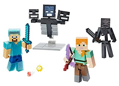 Minecraft Wither Warfare Multipack from Mattel