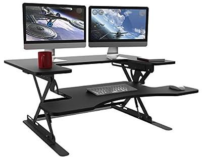 Halter ED-258 Preassembled Height Adjustable Desk Sit/Stand Desk Elevating Desktop