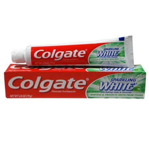 Colgate Sparkling White Mint Travel