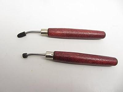 2 Irregular Roulette Egg Shape Etching Intaglio Printmaking Copper E.C Lyons USA