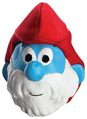 Rubie's Costume Men's Adult Masks, Papa, Smurfs: The Lost